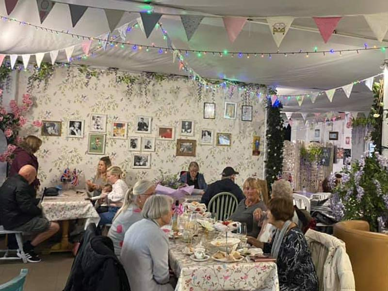 The Vintage Teapot - Lady heyes, Frodsham, Cheshire